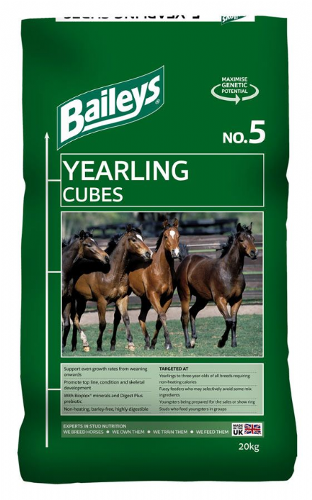 Baileys No 5 Yearling Cubes 20kg